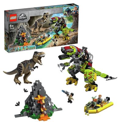 LEGO Jurassic World T. Rex vs Dino-Mech Battle Set 75938 Best Price, Cheapest Prices