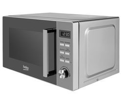 BEKO MOF20110X Compact Solo Microwave - Stainless Steel Best Price, Cheapest Prices