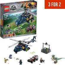 LEGO Jurassic World Blue's Helicopter Pursuit Toy - 75928 Best Price, Cheapest Prices