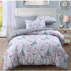 Argos Home Paris Blossom Bedding Set - Double Best Price, Cheapest Prices