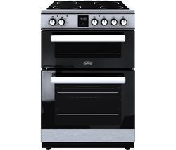 BELLING FSE608DPc 60 cm Electric Ceramic Cooker - Stainless Steel & Black Best Price, Cheapest Prices