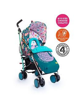 Cosatto Supa Stroller - Mini Mermaids - Exclusive Design Best Price, Cheapest Prices