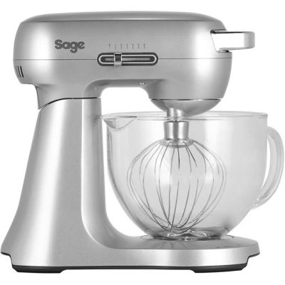 Sage The Scraper Mixer BEM430 Stand Mixer with 4.7 Litre Bowl - Silver Best Price, Cheapest Prices