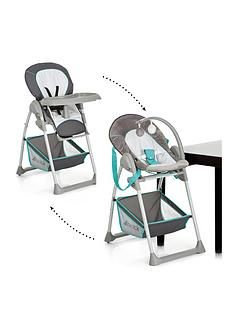 Hauck Hauck Sit'n Relax Highchair - Hearts Best Price, Cheapest Prices