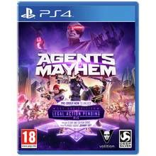 Agents of Mayhem PS4 Game Best Price, Cheapest Prices