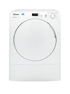 Candy Smart CSV9LF 9kg Load Vented Sensor Tumble Dryer with Smart Touch - White Best Price, Cheapest Prices