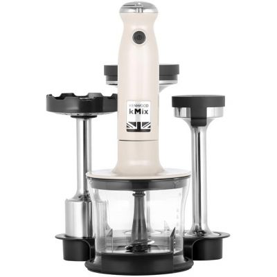 Kenwood KMIX HDX754CR Hand Blender with 3 Accessories - Cream Best Price, Cheapest Prices