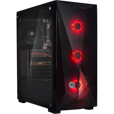 3XS Core 5700XT RGB Gaming Tower - Black Best Price, Cheapest Prices