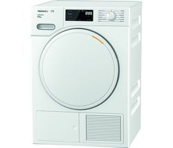 MIELE Active Plus TWE520WP 8 kg Heat Pump Tumble Dryer - White Best Price, Cheapest Prices