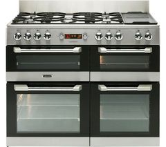 LEISURE Cuisinemaster CS110F722X Dual Fuel Range Cooker - Stainless Steel Best Price, Cheapest Prices