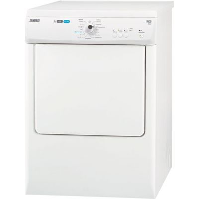 Zanussi ZTE7101PZ 7Kg Vented Tumble Dryer - White - C Rated Best Price, Cheapest Prices