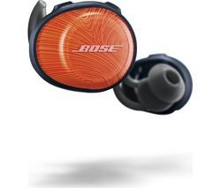 BOSE SoundSport Free Wireless Bluetooth Headphones - Orange & Blue Best Price, Cheapest Prices