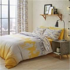 Catherine Lansfield Cityscape Bedding Set - Kingsize Best Price, Cheapest Prices