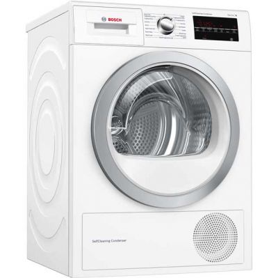 Bosch Serie 6 WTW85492GB 8Kg Heat Pump Tumble Dryer - White - A++ Rated Best Price, Cheapest Prices