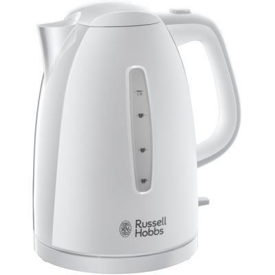 Russell Hobbs Textures 21270 Kettle - White Best Price, Cheapest Prices