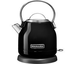 KITCHENAID 5KEK1222BOB Traditional Kettle - Onyx Black Best Price, Cheapest Prices
