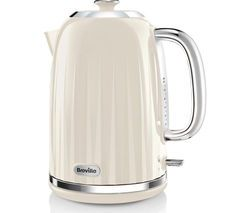 BREVILLE Impressions VKJ956 Jug Kettle – Vanilla Cream Best Price, Cheapest Prices