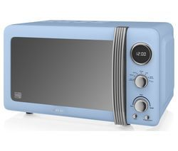 SWAN SM22030BLN Solo Microwave - Blue Best Price, Cheapest Prices