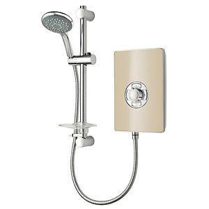 Triton Style Electric Shower - Riviera Sand 9.5kW Best Price, Cheapest Prices