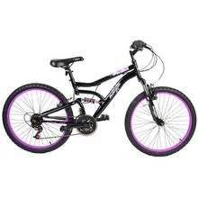 Muddyfox Inca 24 Inch Dual Suspension Kids Bike Best Price, Cheapest Prices