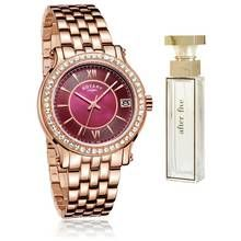Rotary Ladies' Rose Gold Bracelet Watch and Perfume Set Best Price, Cheapest Prices