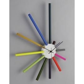 Habitat Spectrum Wall Clock - Multicoloured Best Price, Cheapest Prices