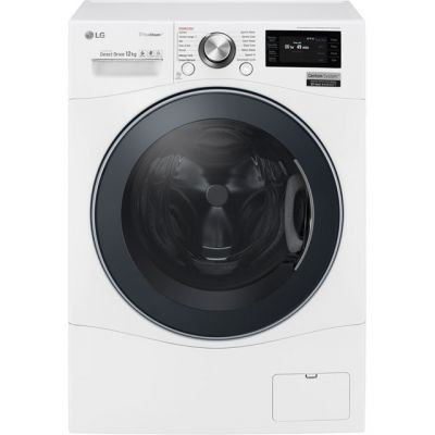 LG Centum™ FH6F9BDS2 Wifi Connected 12Kg Washing Machine with 1600 rpm - White - A+++ Rated Best Price, Cheapest Prices