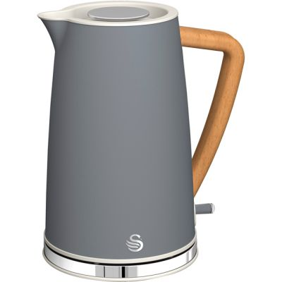 Swan Nordic SK14610GRYN Kettle - Grey Best Price, Cheapest Prices