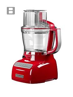 KitchenAid 5KFP1335BER 3.1 Litre Food Processor - Red Best Price, Cheapest Prices