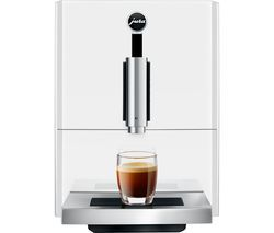 JURA A1 Bean to Cup Coffee Machine - White Best Price, Cheapest Prices