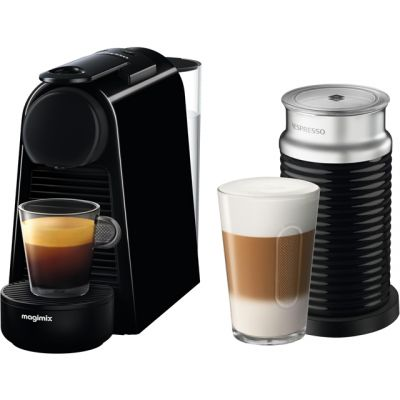 Nespresso by Magimix Essenza Mini & Milk 11377 - Black Best Price, Cheapest Prices
