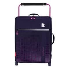 IT Luggage World's Lightest 2 Wheel Suitcase - Black