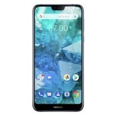 SIM Free Nokia 7.1 32GB Mobile Phone - Blue Best Price, Cheapest Prices