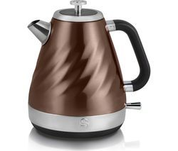 SWAN Twist Jug Kettle - Copper Best Price, Cheapest Prices