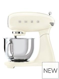 Smeg Cream 50s Style Stand Mixer (Full Colour) Best Price, Cheapest Prices