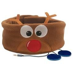 Snuggly Rascals Kids Over-Ear Headphones - Reindeer Best Price, Cheapest Prices