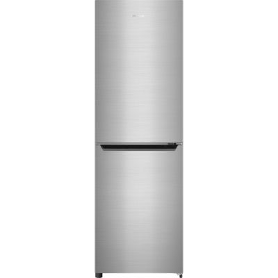 Hisense RB385N4EC1 50/50 Frost Free Fridge Freezer - Stainless Steel Effect - A+ Rated Best Price, Cheapest Prices