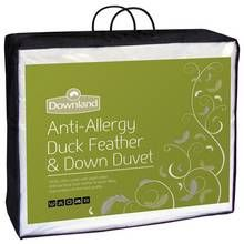 Downland 13.5 Tog Duck, Feather and Down Duvet - Double