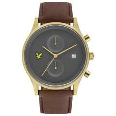 Lyle and Scott Men's Brown Leather Strap Watch Best Price, Cheapest Prices