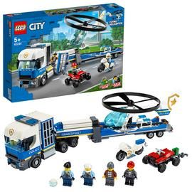 LEGO City Police Helicopter Transport Building Set - 60244 Best Price, Cheapest Prices
