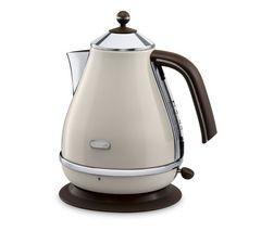 DELONGHI Icona Vintage KBOV3001BG Jug Kettle - Cream Best Price, Cheapest Prices