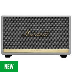 Marshall Acton II Bluetooth Speaker - White Best Price, Cheapest Prices