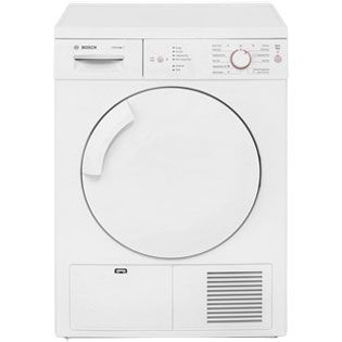 Bosch Serie 4 WTE84106GB 7Kg Condenser Tumble Dryer - White - B Rated Best Price, Cheapest Prices