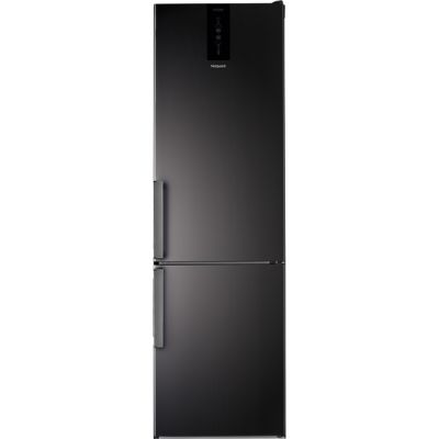 Hotpoint H7T911TKSH 70/30 Frost Free Fridge Freezer - Black / Stainless Steel - A+ Rated Best Price, Cheapest Prices