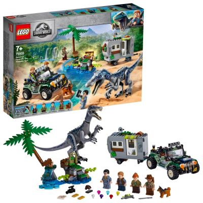 LEGO Jurassic World Baryonyx Face-Off Treasure Set 75935 Best Price, Cheapest Prices