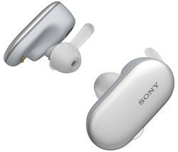 SONY WF-SP900W Wireless Bluetooth Headphones - White Best Price, Cheapest Prices
