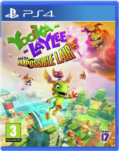 Yooka Laylee: The Impossible Lair PS4 Pre-Order Game Best Price, Cheapest Prices