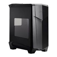 Silverstone Raven Black Ultimate Black Mid Tower Case with Side Window w/o PSU Best Price, Cheapest Prices