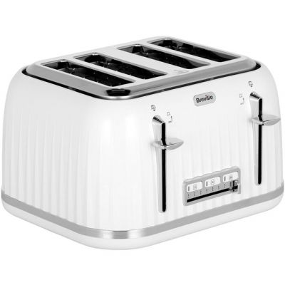 Breville Impressions VTT470 4 Slice Toaster - White Best Price, Cheapest Prices