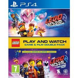 LEGO Movie 2 PS4 Game & Movie Double Pack Best Price, Cheapest Prices